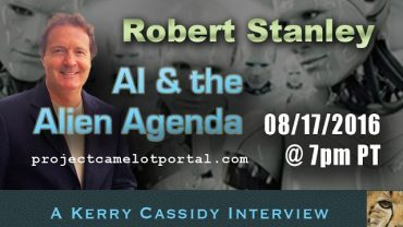 ROBERT STANLEY – AI & THE ALIEN AGENDY
