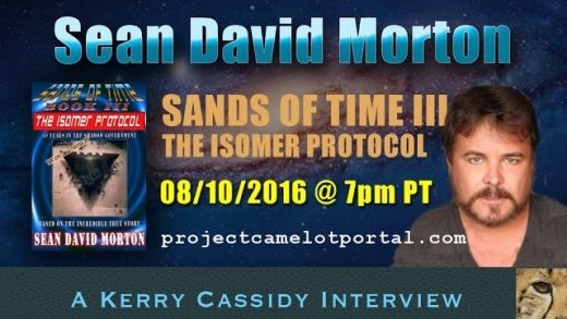SEAN DAVID MORTON RE ISOMER PROTOCOL — NEW BOOK – AUGUST 10TH 7PM PT
