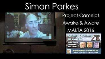 SIMON PARKES VIA SKYPE AT AWAKE & AWARE MALTA