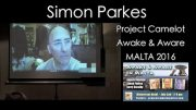 SIMON PARKES AT THE MALTA AWAKE & AWARE CONFERENCE