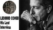 The Passing of A Great Artist:  Leonard Cohen