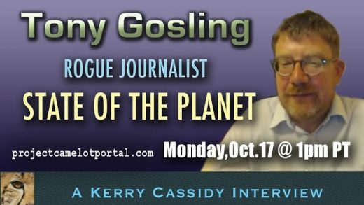 TONY GOSLING:  JOURNALIST   :  STATE OF THE PLANET – GLOBAL POLITICS