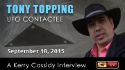 TONY TOPPING :  UFO ENCOUNTERS