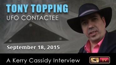 TONY TOPPING :  UFO ENCOUNTERS