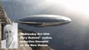 MARY RODWELL – THE NEW HUMAN – Wednesday @7pm PT