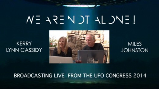 Live with Miles Johnston at UFOCongress now on Youtube